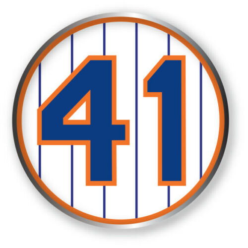 #41 Tom Seaver New York Mets 2021 Patch