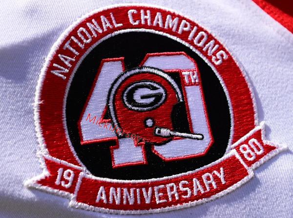 Georgia Bulldogs 1980 40TH patch