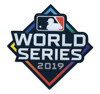 2019 MLB World Series Patch