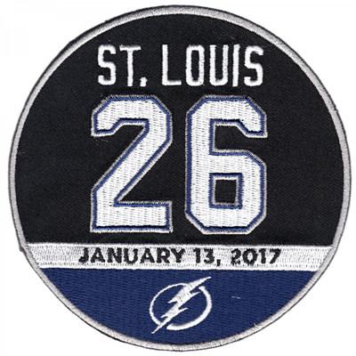 Marty St. Louis #26 Retirement  Patch