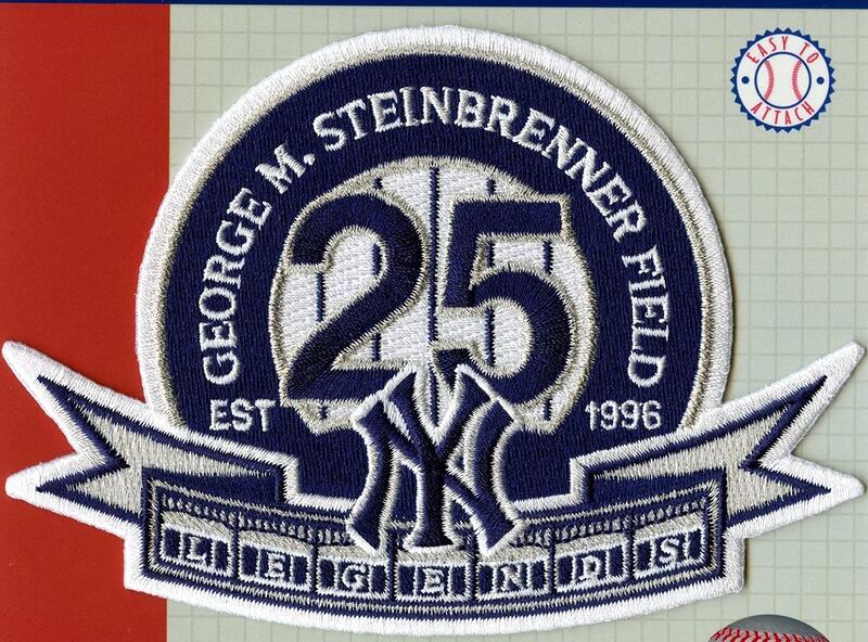 2020 George M. Steinbrenner Field 25th Year New York Yankees  Patch