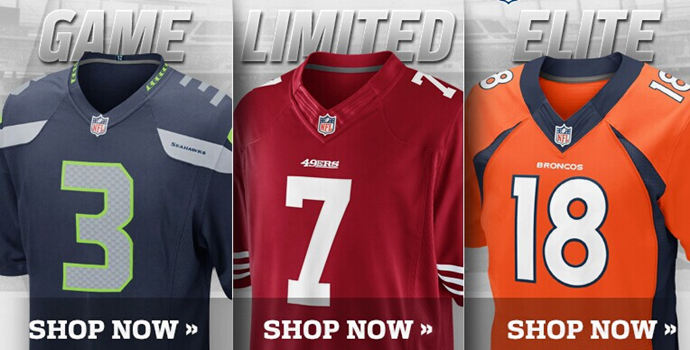 Nike football Jerseys