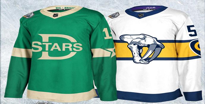 Adidas NHL jerseys