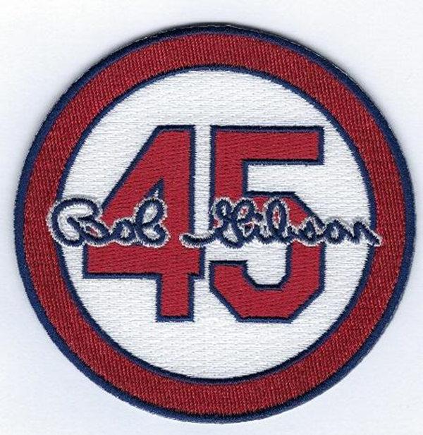 45 Bob Gibson St. Louis Cardinals  Patch
