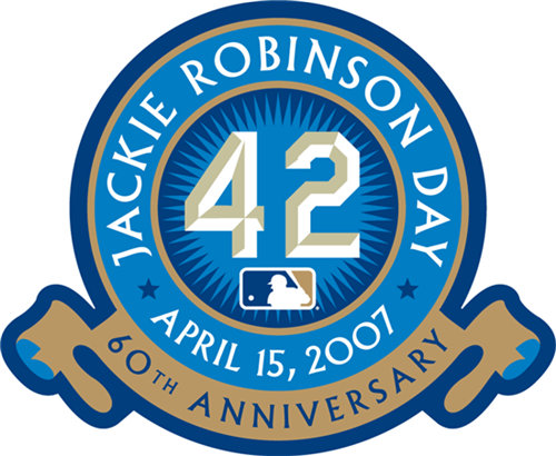 Jackie Robinson 60th Anniversary Patch