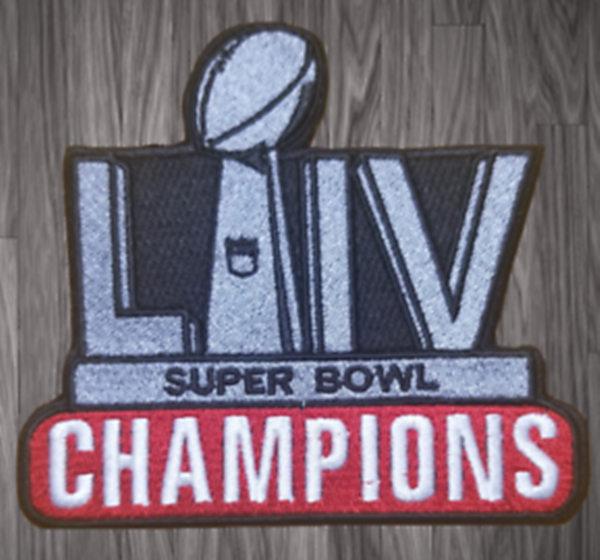 2019 Kansas City Chiefs LIV Super Bowl Champions jersey patch