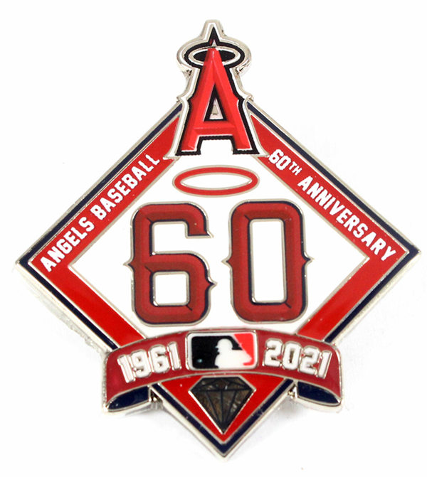 Los Angeles Angels 1960-2021 60TH Patch