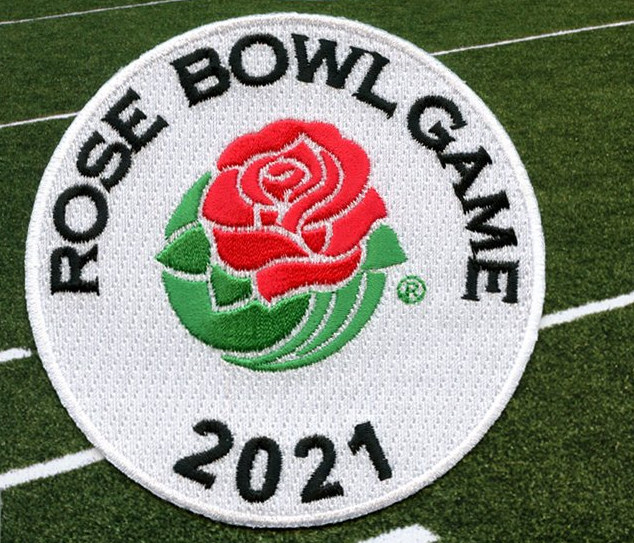 2021 Rose Bowl patch