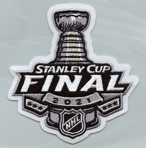 2021 NHL FInal Game Jersey Patch