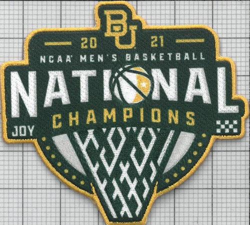2021 NCAA Basketball Champions Patch