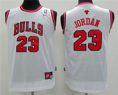 09a9b84ab05260 Youth North Carolina Tar Heels  23 Michael Jordan White College ...