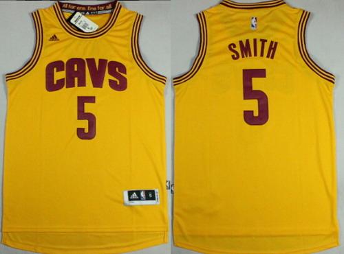 6cc51077f36  5 J.R. Smith Cleveland Cavaliers Jersey